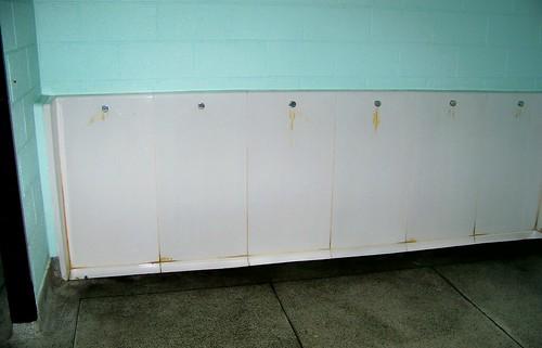 Irish trough urinal