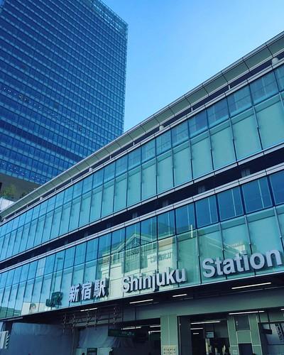 新宿駅が現代的になってた、、、