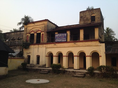 Ancestral House of Netaji Subhas Chandra Bose in Shubashgram, West Bengal, India