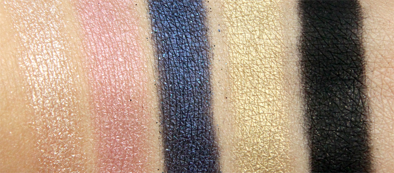 Urban Decay Gwen Stefani eyeshadow palette swatch3