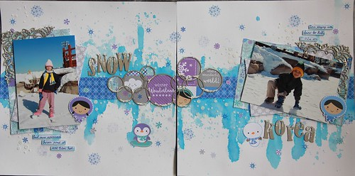 """Snow"" & ""Korea"" Layouts"