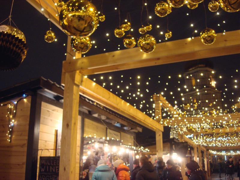 Christmas market Kiev