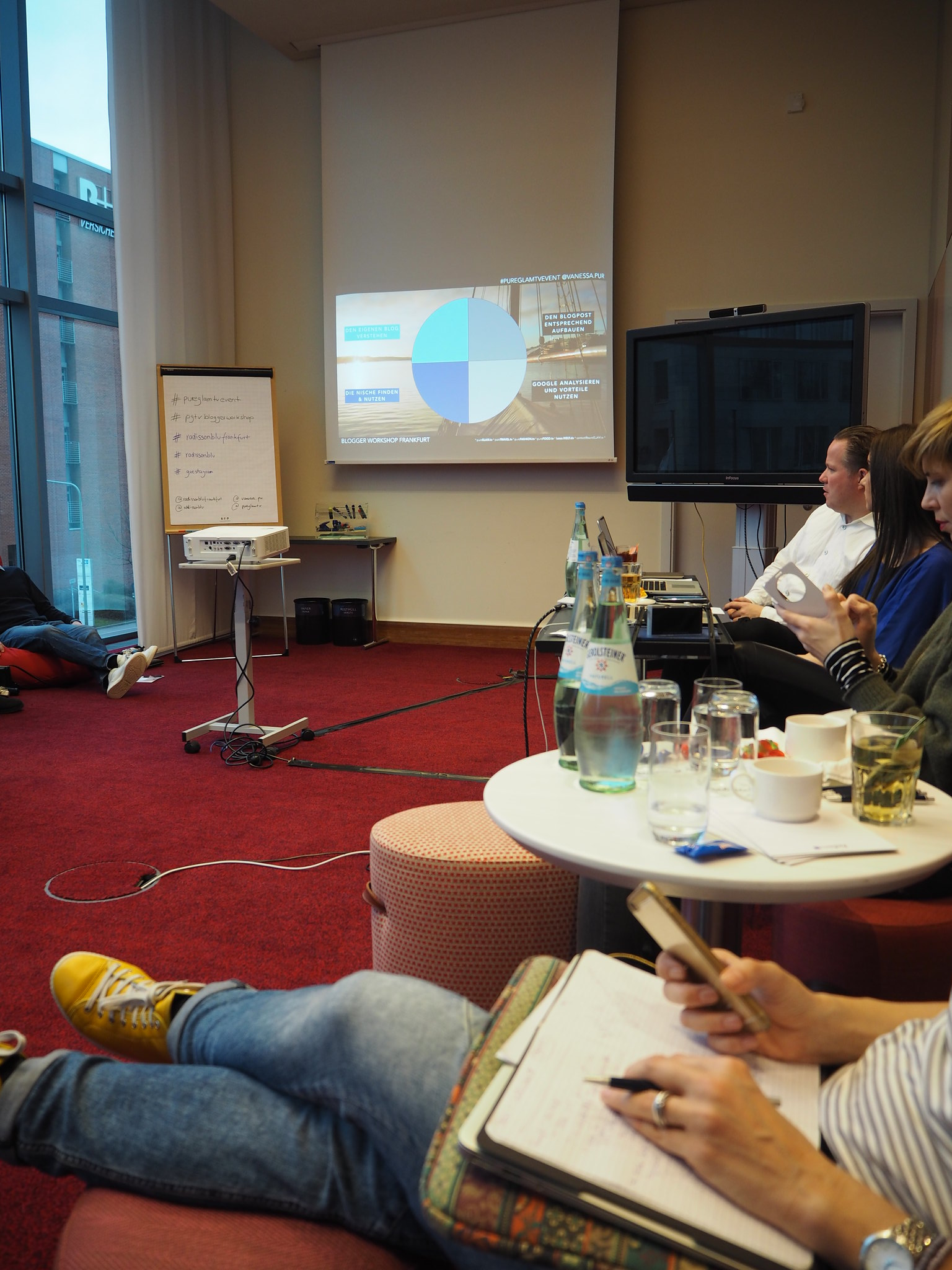 SEO und Bloggerworkshop, Radisson Blu
