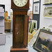 Antique limerick grandfather clock