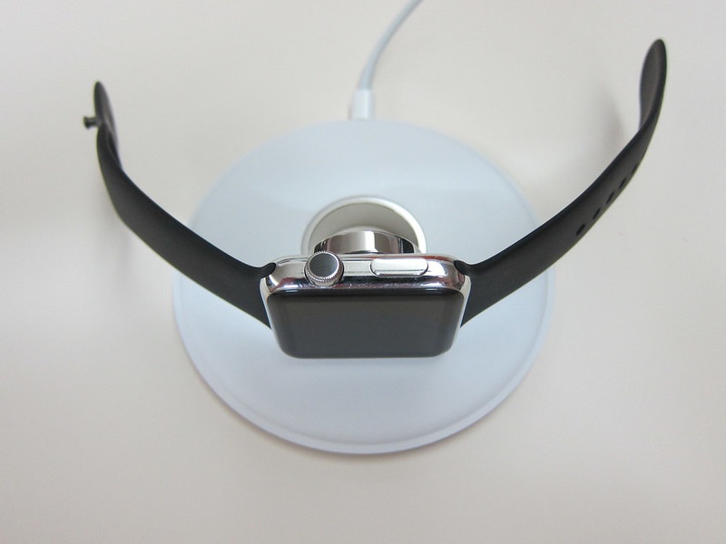 Apple Watch Magnetic Charging Dock - Side Position