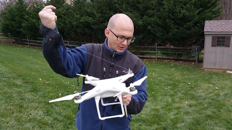 Kite vs Drone