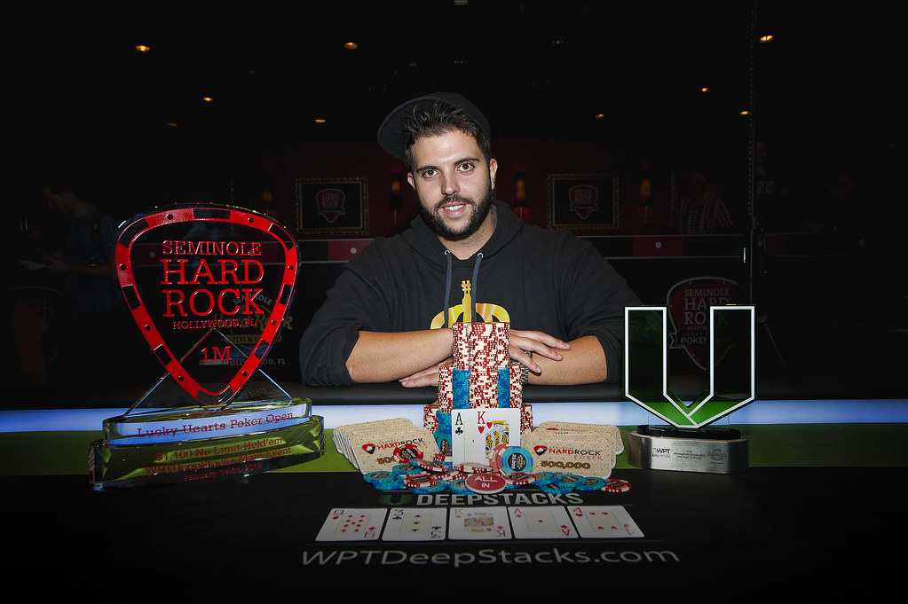 Salomon Ponte Wins WPTDeepStacks Hollywood!