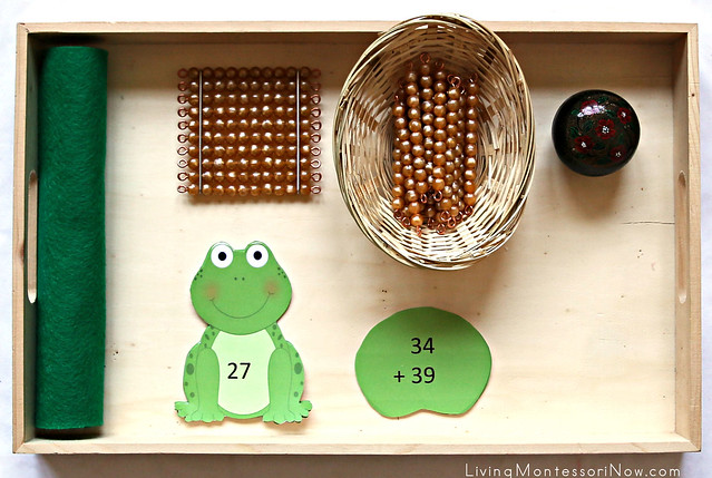 Frog Addition with Regrouping