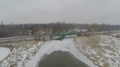 Winter in Brampton & Mississauga, Ontario, Canada, 3DR Solo & GoPro Hero 3+ Black, with Gimbal