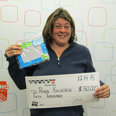 Robyn Kruckeberg - $50,000 Powerball