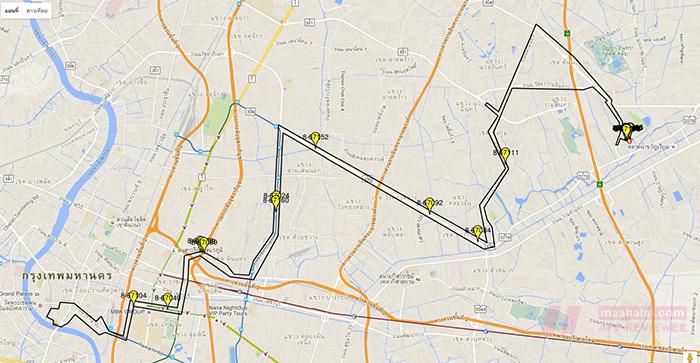 Thai bus GPS