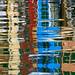 Tableau-reflets. Burano by jjcordier
