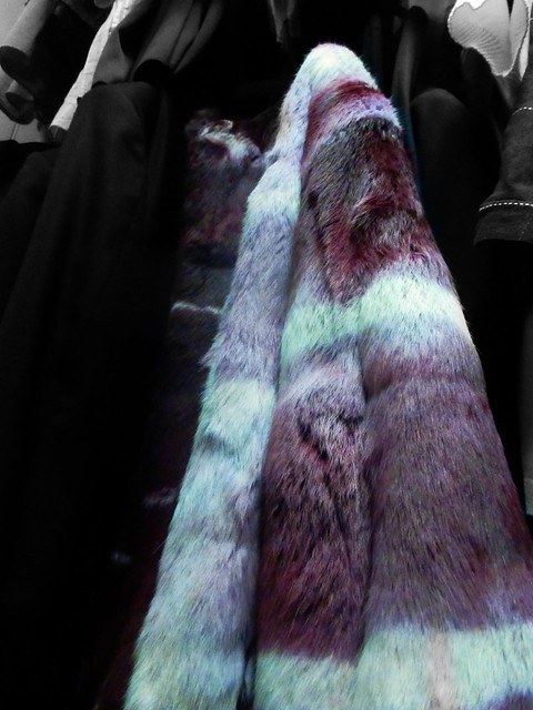 The most horrible fur coat ever up to now.