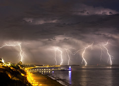 Lightning over Bournemouth