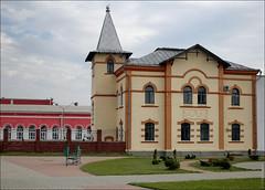 Шклов, Беларусь, контора бумажной фабрики