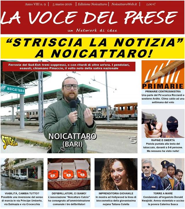 Noicattaro. Prima pagina n.9-2016 intero