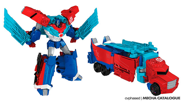 TRANSFORMERS Robots In Disguise - Warrior Class POWER SURGE OPTIMUS PRIME