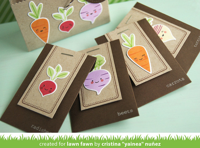 Pack of seeds gift envelopes