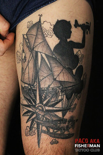 tatouage par paco chez fisherman tattoo club
