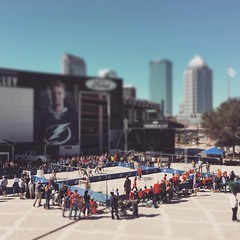 Our city is pretty awesome #Tampa #tampabay #GoLightning #streethockey
