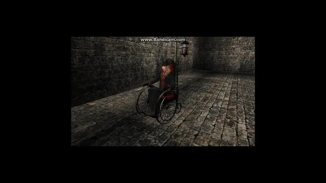 Bloody Rosarie  wheelchair