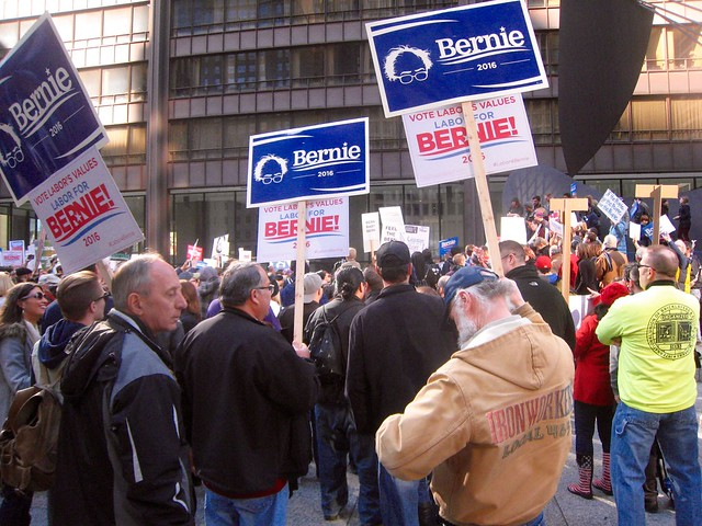 Chicago March for Bernie 27 February 2016