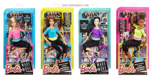 Made to Move Barbie promo pics