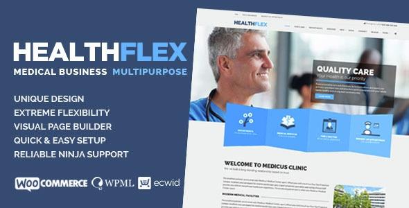 HEALTHFLEX v1.4.6 - Medical Health WordPress Theme