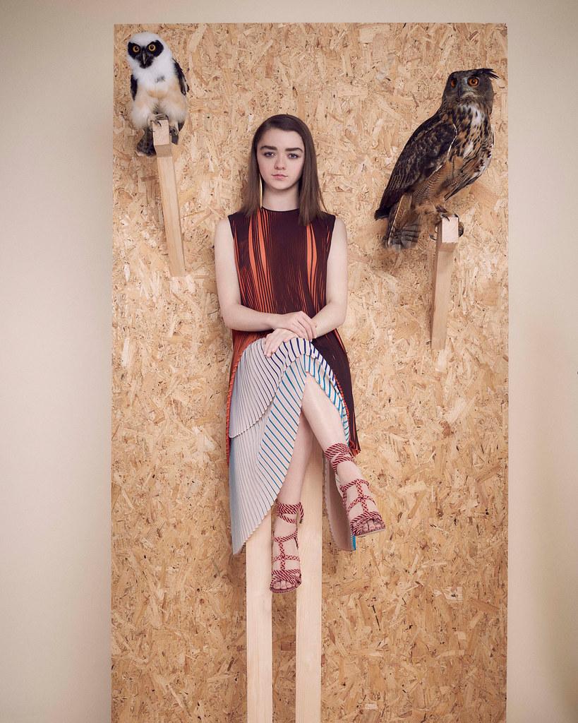 Мэйси Уильямс — Фотосессия для «InStyle» UK 2016 – 6