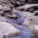 Ikaria's remotest hinterland 29 - crossing a stream