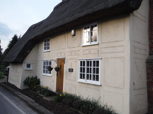 Pargetted House in Wendens Ambo, near The Bell