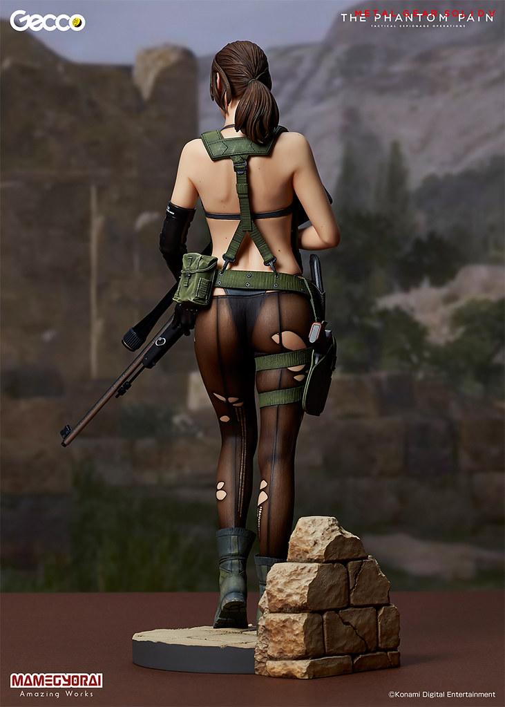 Gecco【性感女狙擊手:Quiet】潛龍諜影V:幻痛 1/6 比例全身雕像