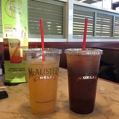 McAlister's new mango green tea is TASTY #teafreaksgogreen
