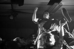 Crowd Surfing Singer -Missoula MT #2013 #musicphotography #music #photooftheday #igers #montana #olebeckvfw #bass #missoulamt #color #instalove #guitar #bnw #punkrock #missoula #beauty #instagood #travel #bands #wanderlust #punk #rock #instapic #retro #co
