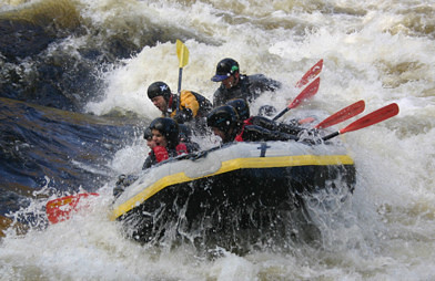 White water rafting liverpool
