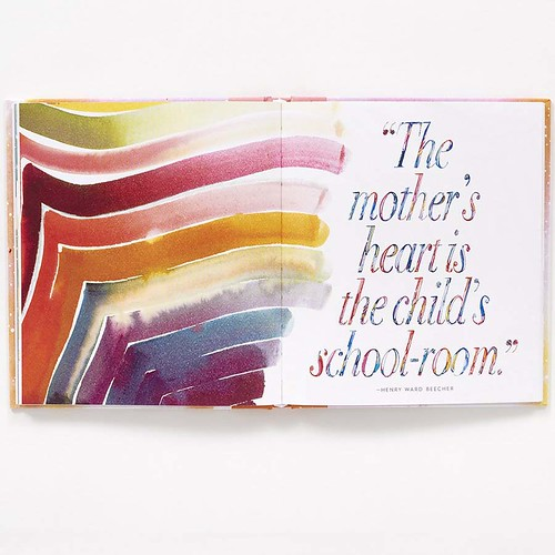 5A mother's heart is child's schoolroom