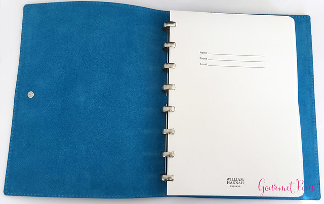Review @WilliamHannahUK Whiskey & Kingfisher Leather Notebook (25)