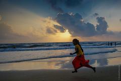 India: Amanecer en el Golfo de Bengala