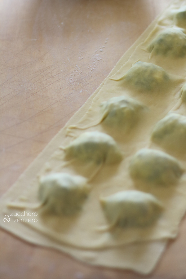 Pasta fresca (making of)