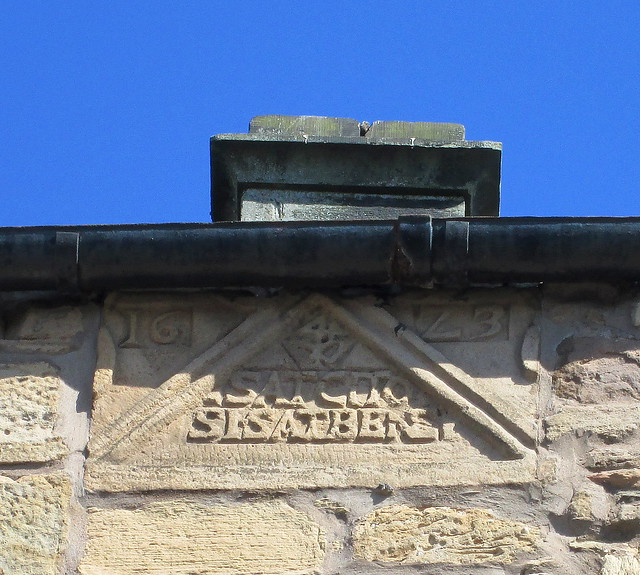 Carved cartouche, Cupar, Fife