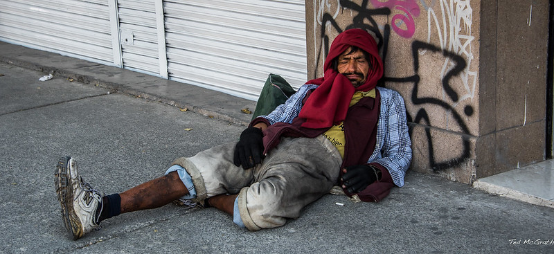 2016 - Mexico City - Street Poor