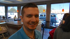 Chase in Chick Fil A with me