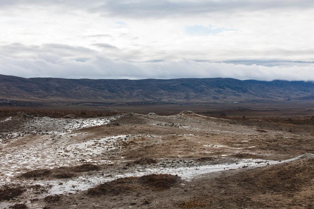 Gerogia Takhti-Tepa Mudvulcanoes
