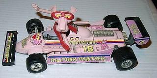 PANTERA ROSA - PINK PANTHER 70s toy car - macchinina