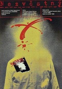 Filmový plagát Nezvěstný