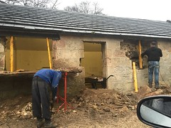 Manse Stables renovation