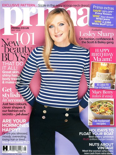PRIMA Magazine - May 2016 - Cover