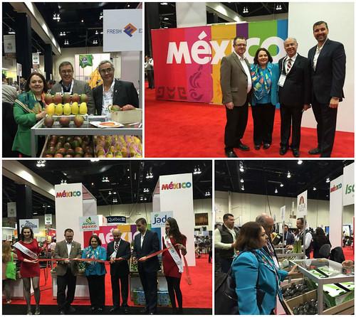 Inauguración del pabellón mexicano en el Canadian Produce Marketing Association Show 2016
