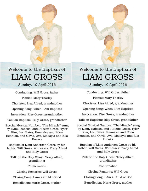 Liams Baptism Program Karen Changed