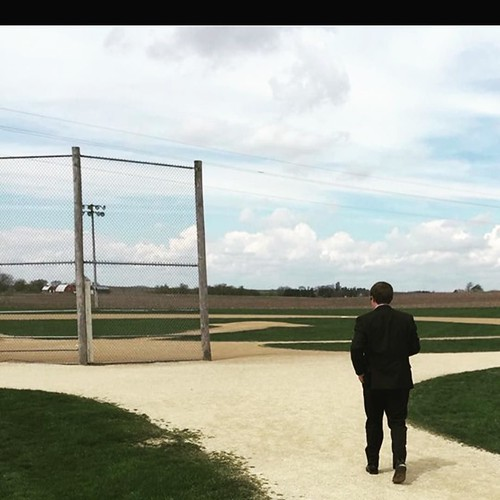 @gavinrblair CEO of @iowarealtors got to step on to the field of dreams! #myiowahome
